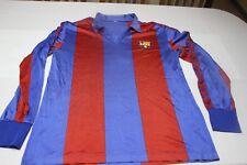 Camiseta VINTAGE F.C.BARCELONA TIEMPO MEYBA TALLA M ENTREGADA POR JUGADOR BARCA