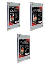 (Pack of 3) Ultra Pro 4-Screw Screwdown Trading Card Holder Regular Non-Recessed