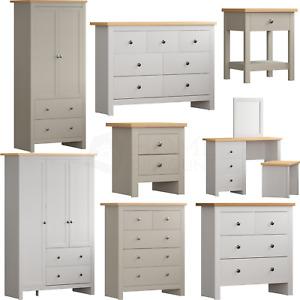 Arlington Chest of Drawers Bedside Cabinet Dressing Table Bedroom Furniture