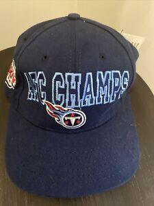 NEW Super Bowl XXXIV 2000 Team NFL Hat AFC Tennesse Titans Ball Cap