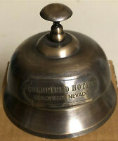 VintageGoldfield Hotel Brass Desk Bell