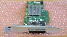 Dell Dual Port External 6Gb SAS Host Bus Adapter HBA H200E RAID Controller 12DNW