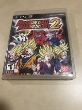 Dragon Ball: Raging Blast 2 (Sony PlayStation 3, 2010) CASE AND COVER ONLY!