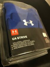 Under Armour Ua Strive Volleyball Kneepads Blue White UniSex Size Medium