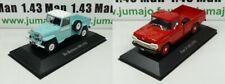 LOT 2 Voiture 1/43 SALVAT Autos Inolvidables Ford F100 Pick-Up 1959 IKA Baqueano