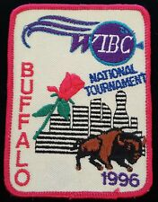 Vintage Bowling Patch 1996 Buffalo WIBC National Tournament