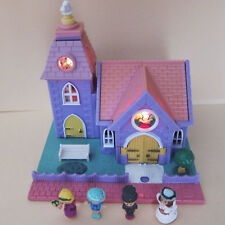 Polly POCKET Wedding Chapel 100% complete POLLYVILLE Chiesa SPOSI RARE