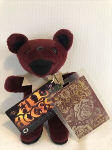 ALL ACCESS !!!! Grateful Dead Bean Bear Collectibles By Liquid Blue 7 Inch