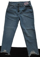 New Womens Blue Relaxed Straight NEXT Crop Jeans Size 20 18 16 14 12 10 RRP £28