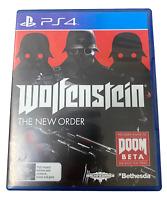 Wolfenstein The New Order Sony PS4