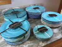 IL Mulino New York Melamine Dinner Salad Or Dessert Plates Set 4 Your Choice New