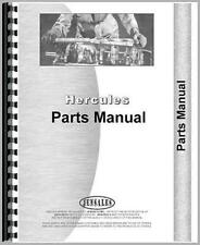 Engine Parts Manual For Hercules Engines IXB-5
