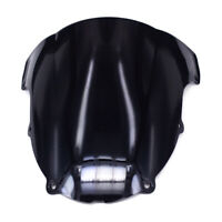 ABS Windshield Windscreen Screen For Kawasaki ZX 6R ZX6R ZX636 2003-2004 Black
