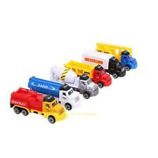 6pcs/set Pull Back Alloy Car Diecast Model Kids Children Mini Truck Toy Boy Gift