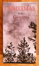Christmas with Giovanni - VHS - 10 Christmas Classics Performed