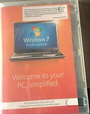 Microsoft Windows 7 Professional SP1 32 bit FQC-04617