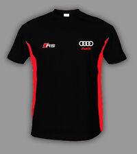 AUDI RS T Shirt T-Shirt Polo chemise s line Coton BRODERIE Fabriqué en EUR S-6XL