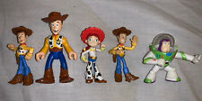 Disney Toy Story Mini Figures Bundle - Woody, Buzz And Jessie Imaginext