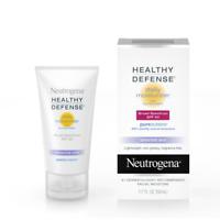 Neutrogena Healthy Defense Sensitive Moisturizer, SPF 50, 1.7 fl. oz Exp: 04/21