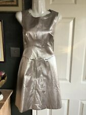 Karen Millen Champagne Dress Sz 10 NEW with Tags