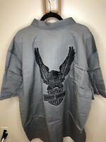 Harley-Davidson Men's Genuine Classics Eagle Shirt 99003-14VM/052L NWT