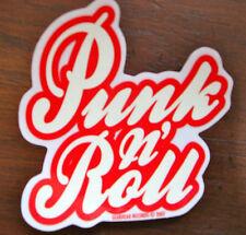 Punk 'n' Roll Sticker Gearhead Records Hot Rods Rockabilly Psychobilly Greaser