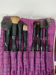 Sonia Kashuk 8 Piece Essential Brush Set with Case NWOT