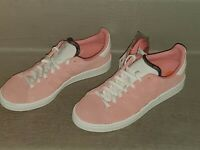 Women New Adidas Campus Tennis Shoe Rose Pink White Size 7 Casual CG6028