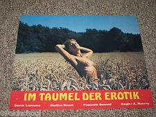 Im Taumel der Erotik AUSHANGFOTO LOBBY CARD Nadine Scant SEXY BUSEN