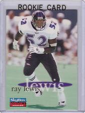 RAY LEWIS Baltimore RAVENS ROOKIE CARD Football 1996 Skybox Impact Rookies RC!