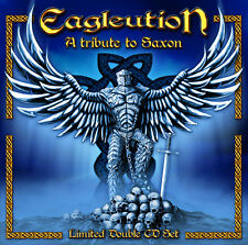 SAXON TRIBUTE - EAGLEUTION LIMITED 2 CD MIT STORMWARRIOR, PARAGON, V8 WANKERS...