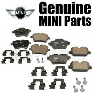 For Set of Front & Rear Brake Pad for Mini Cooper Countryman Paceman R60 R61