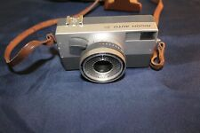Vintage Ricoh Auto 35 Camera for Parts Repair with Form Fitted Case