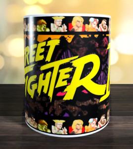 Street fighter 2 (II) retro arcade game Marquee Mug
