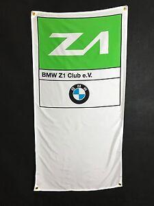 BMW Z1 Flag Banner ~ e30 z3 m3 m5 m6 m1 325i nurburgring z8 dtm racing alpina