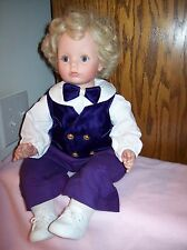 SUSAN WAKEEN  20 NCH CLOTH & VINYL BOY DOLL #80 OF ONLY  500