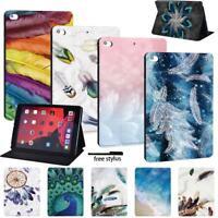 Folding Smart Cover Case Stand For Apple iPad /iPad Mini /iPad Air /iPad Pro+pen