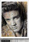 Mr. Brainwash King Of Rock GOLD EDITION Elvis Presley 2017 S/N xx/50 Screenprint