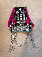 Genuine Asian Traditional Headdress Laos Hat Crown Costume Ornament Decoration