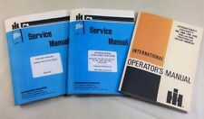 LOT INTERNATIONAL CUB CADET 1450 SERVICE AND OPERATOR MANUALS OWNERS REPAIR IHC