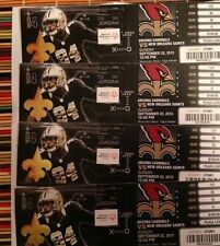 2013 NEW ORLEANS SAINTS VS ARIZONA CARDINALS TICKET STUB 9/22/13 DREW BREES
