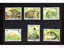1044++CAMBODGE   SERIE TIMBRES  ANIMAUX  SAUVAGES N°1