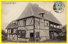 cpa 14 - MAROLLES L' HOTELLERIE (Calvados) VIEILLE MAISON NORMANDE à Colombages