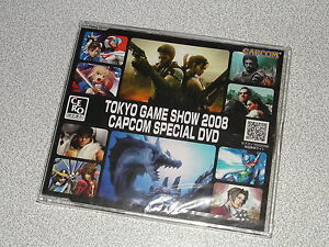 Tokyo Game Show 2008 capcom special DVD JAP new rockman biohazard street