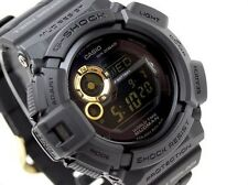 CASIO MUDMAN G-Shock G9300GB-1 G-9300GB-1 Black Gold Solar Free Ship !
