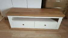 Very.co.uk Easton Wide Tv Unit In Cream And Oak Effect RPR £169