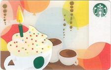 STARBUCKS Gift Card Birthday Drink 2011 - Serial 6077 - © 2012 FREE SHIPPING