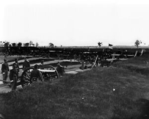 New Civil War Photo: Batteries at Fort Whipple, Arlington Virginia - 6 Sizes!