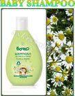 BOCHKO Natural BABY Shampoo Chamomile and Linden Pareben Free no Tears 200 ml