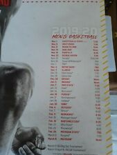 2019 Maryland Basketball Poster Schedule Jalen Smith 16 x 20 sga